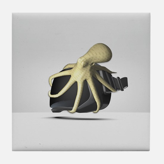 Oculus Octopus Tile Coaster