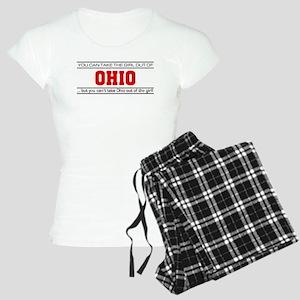'Girl From Ohio' Women's Light Pajamas