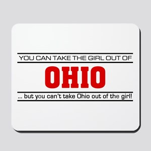 'Girl From Ohio' Mousepad