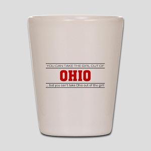 'Girl From Ohio' Shot Glass