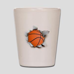Basketball Burster Shot Glass