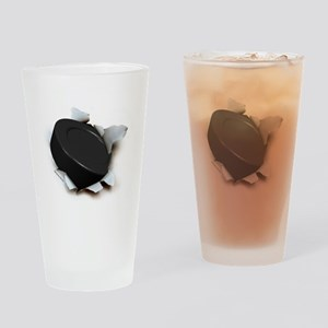 Hockey Burster Drinking Glass