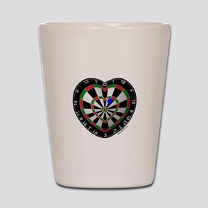 Dart Love 2 Shot Glass