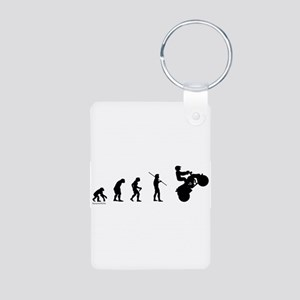 ATV Evolution Aluminum Photo Keychain