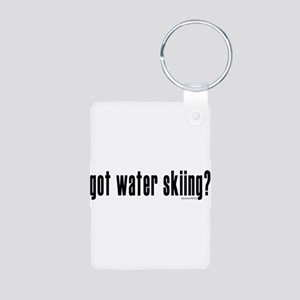 got water skiing? Aluminum Photo Keychain