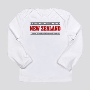 'Girl From New Zealand' Long Sleeve Infant T-Shirt