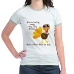 Thanksgiving Vegan Jr. Ringer T-Shirt