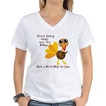 Thanksgiving Vegan Women's V-Neck T-Shirt