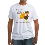 Thanksgiving Vegan Fitted T-Shirt