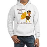 Thanksgiving Vegan Hooded Sweatshirt