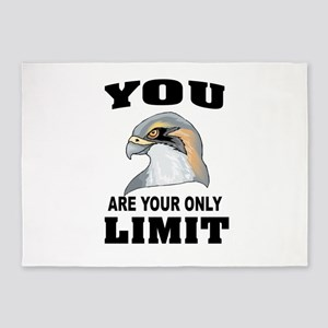 YOUR LIMIT 5'x7'Area Rug