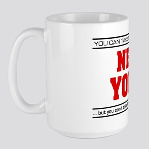 'Girl From New York' Large Mug