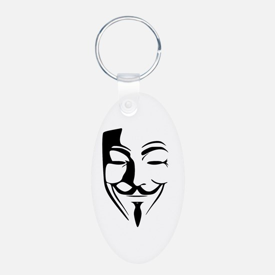 Fawkes Silhouette Keychains