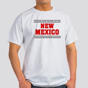 'Girl From New Mexico' Light T-Shirt