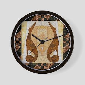 Pumpkin Path Wall Clock