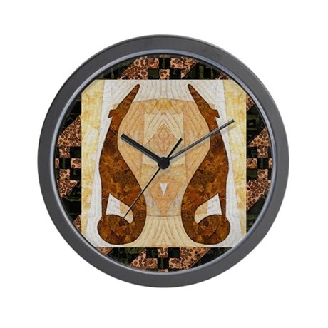 Pumpkin Path Wall Clock