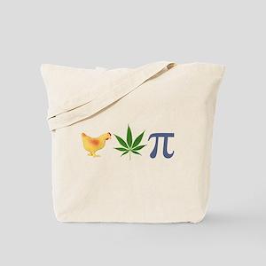 Chicken Pot Pi Pie Tote Bag