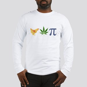 Chicken Pot Pi Pie Long Sleeve T-Shirt