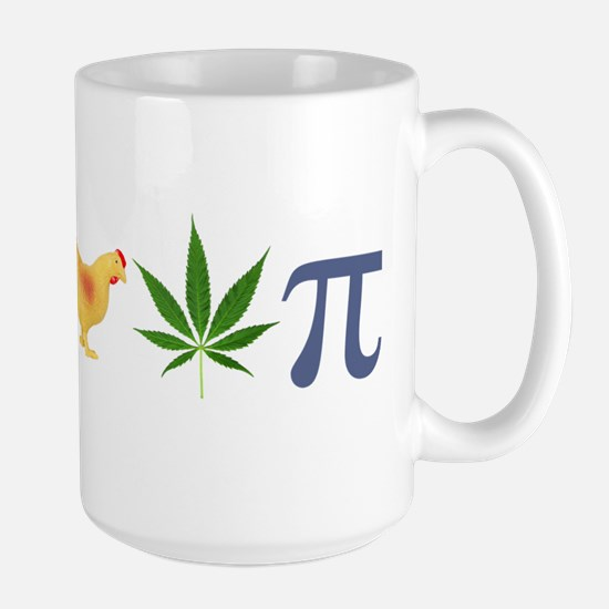 Chicken Pot Pi Pie Large Mug
