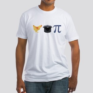 Chicken Pot Pi Pie Fitted T-Shirt