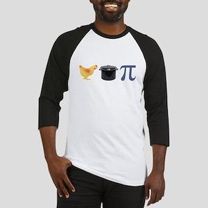 Chicken Pot Pi Pie Baseball Jersey