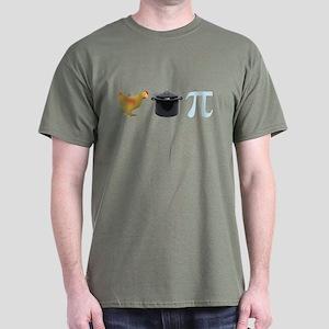 Chicken Pot Pi Pie Dark T-Shirt