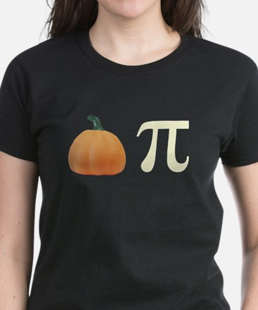 Pumpkin Pi Pie Women's Dark T-Shirt