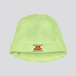 'Girl From New Jersey' baby hat
