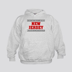 'Girl From New Jersey' Kids Hoodie