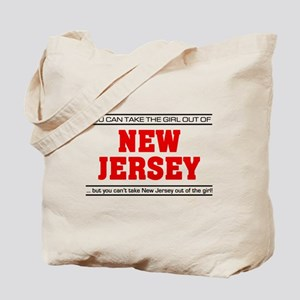 'Girl From New Jersey' Tote Bag
