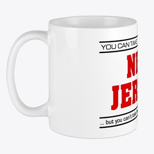 'Girl From New Jersey' Mug