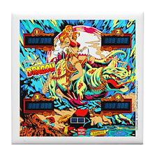 Gottlieb® Dragon Pinball Tile Coaster