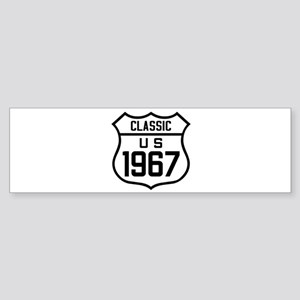 Classic US 1967 Bumper Sticker