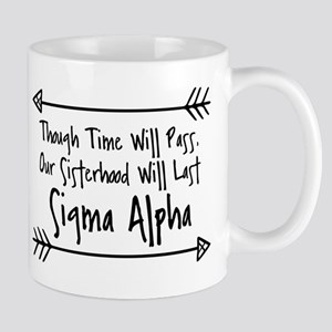 Sigma Alpha Sisterhood 11 oz Ceramic Mug