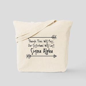 Sigma Alpha Sisterhood Tote Bag