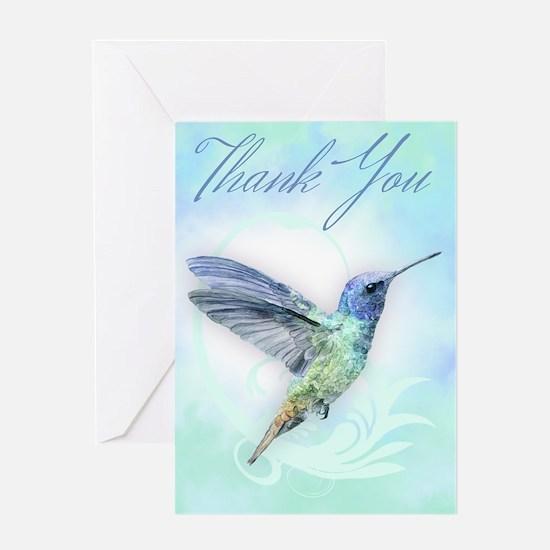 Thank You, Hummingbird Greeting Cards