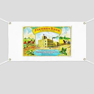 Wisconsin Beer Label 3 Banner
