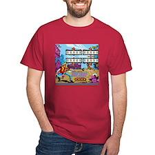 Gottlieb® Fast Draw Pinball Dark T-Shirt