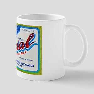 Nebraska Beer Label 3 Mug