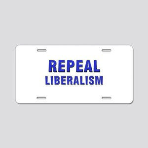 Repeal 3 Blue Aluminum License Plate