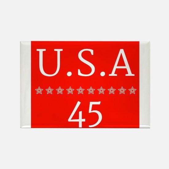 USA45 Magnets