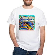 Gottlieb® Jet Spin Pinball White T-Shirt
