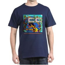 Gottlieb® Jet Spin Pinball Dark T-Shirt