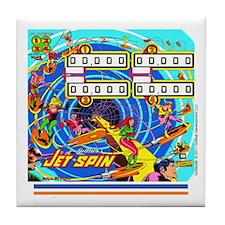 Gottlieb® Jet Spin Pinball Tile Coaster
