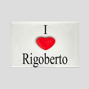 Rigoberto Rectangle Magnet
