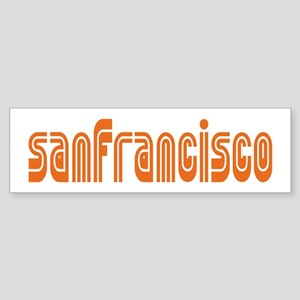 SF MUNI Bumper Sticker