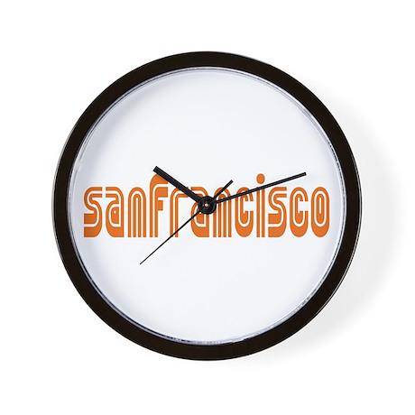 SF MUNI Wall Clock
