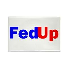 FED UP™ Rectangle Magnet (10 pack)