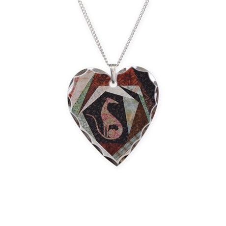 All That Jazz Necklace Heart Charm