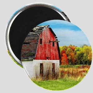 Big Old Red Barn Magnet